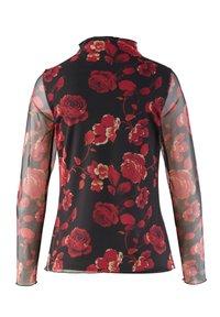 Alba Moda - Long sleeved top - rot/schwarz - 3