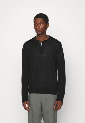 CHARLIE - Stickad tröja - schwarz