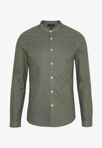 GDAD OXFORD - Hemd - dark khaki