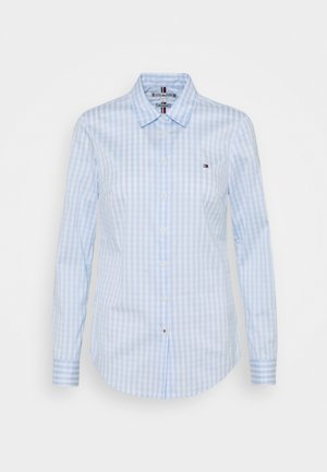 SLIM FIT - Button-down blouse - sweet blue
