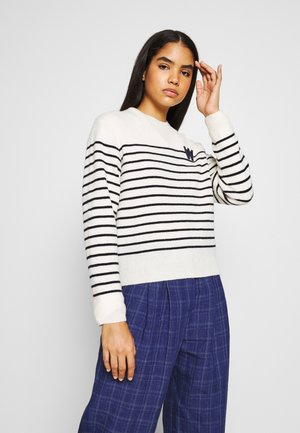ANNELI LAMBSWOOL JUMPER - Jumper - off white