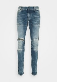 G-Star - 5620 3D ZIP KNEE SKINNY - Skinny-Farkut - light blue denim