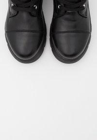 Koi Footwear - VEGAN - Platform ankle boots - black - 5