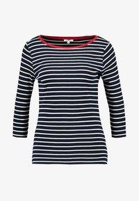 STRIPE - Maglietta a manica lunga - navy