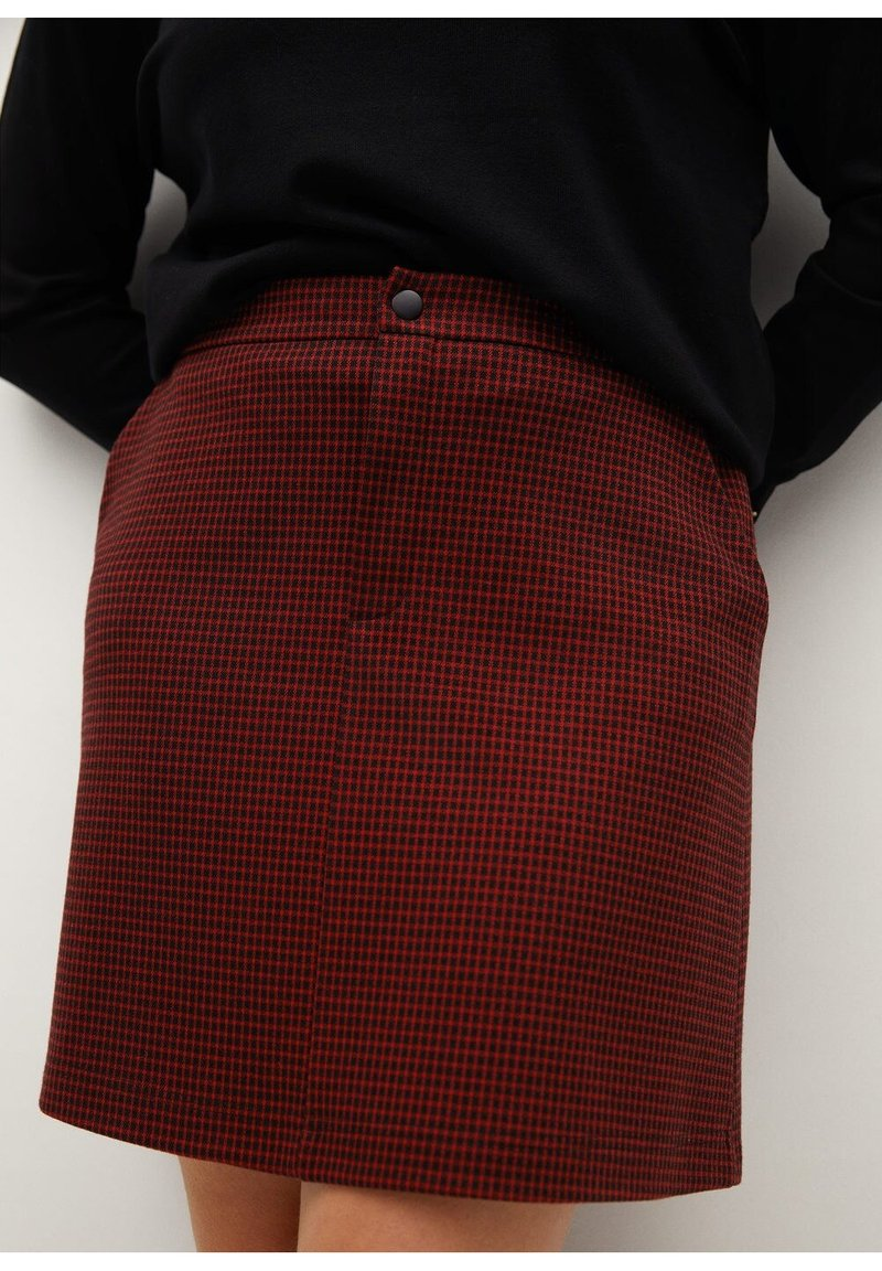 Violeta by Mango - SIENNA - Pencil skirt - rot