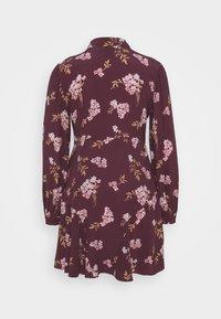 Vero Moda Petite - VMRIBINA DRESS - Shirt dress - fig - 7