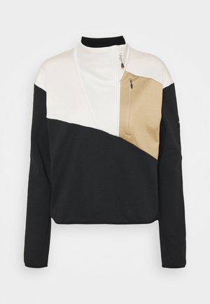 COLUMBIA LODGE™ HYBRID - Sweatshirt - black/chalk/beach