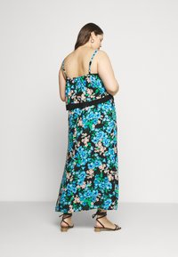 Simply Be - DOUBLE LAYER MAXI DRESS - Maxi šaty - green paisley - 2