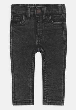 SKINNY PULL ON UNISEX - Jeans Skinny Fit - washed black
