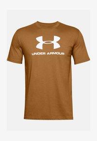 Under Armour - Print T-shirt - yellow ochre - 2