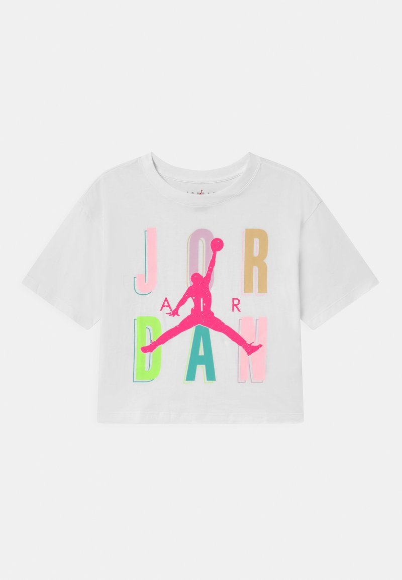 Jordan - SWEETS & TREATS - Print T-shirt - white
