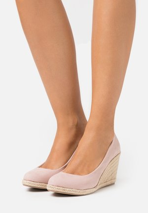 ECO BLUSH DRIFT WEDGE - Escarpins compensés - pink