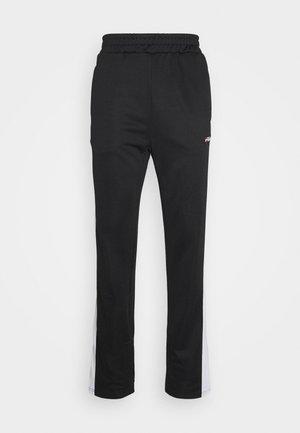 SANDRO TRACK PANT - Teplákové kalhoty - black-bright white