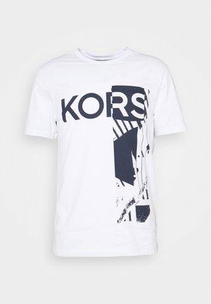 POCKET TEE - Print T-shirt - white