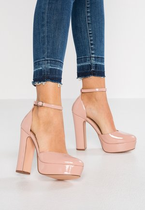 Zapatos altos - light pink