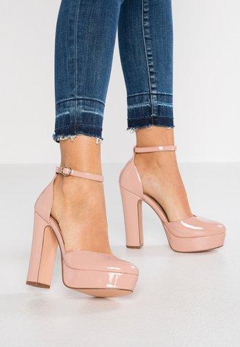 High heels - light pink