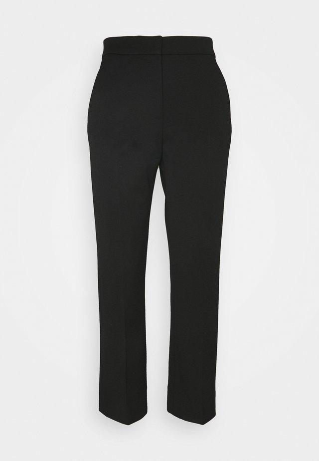JUDITH - Spodnie materiałowe - black