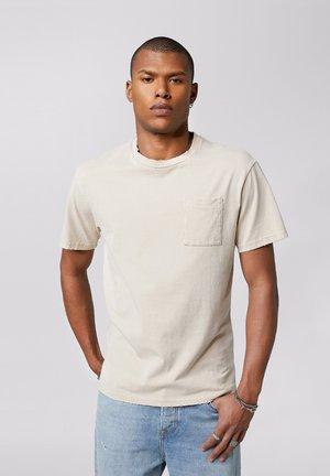 ALESSIO - Print T-shirt - vintage sand