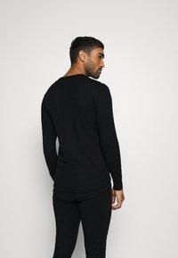 ODLO - LONG ACTIVE WARM SET - Dlouhé spodní prádlo - black - 4