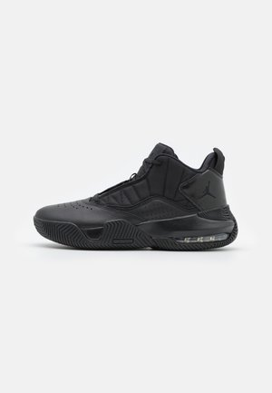 STAY LOYAL - Sneakersy wysokie - black/cool grey