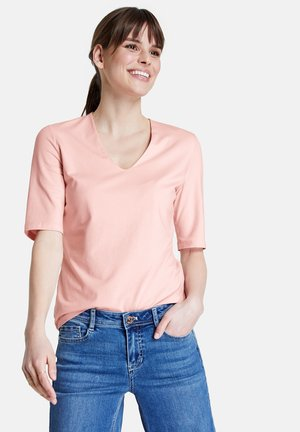 Basic T-shirt - flushed rose