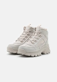 Skechers Sport - STREET BLOX - Ankle boots - offwhite - 2