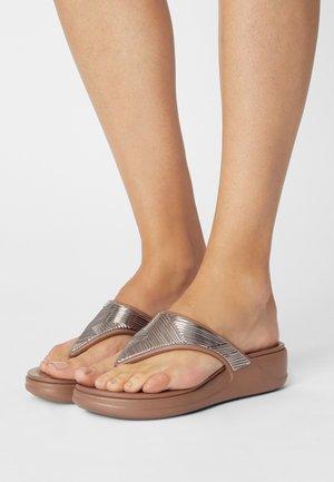 MONTEREY - Pool shoes - bronze