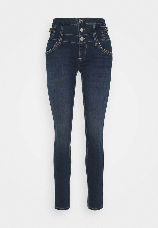 RAMPY - Jeans Skinny Fit - denim blue ribbon wash