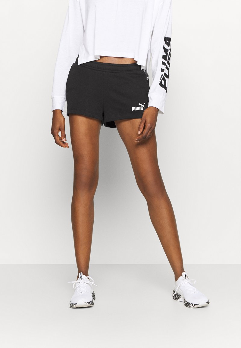 Puma - AMPLIFIED - Sports shorts - black