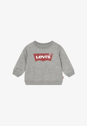 BATWING CREW - Felpa - grey heather