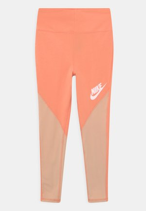 Leggings - Trousers - apricot agate/shimmer/white