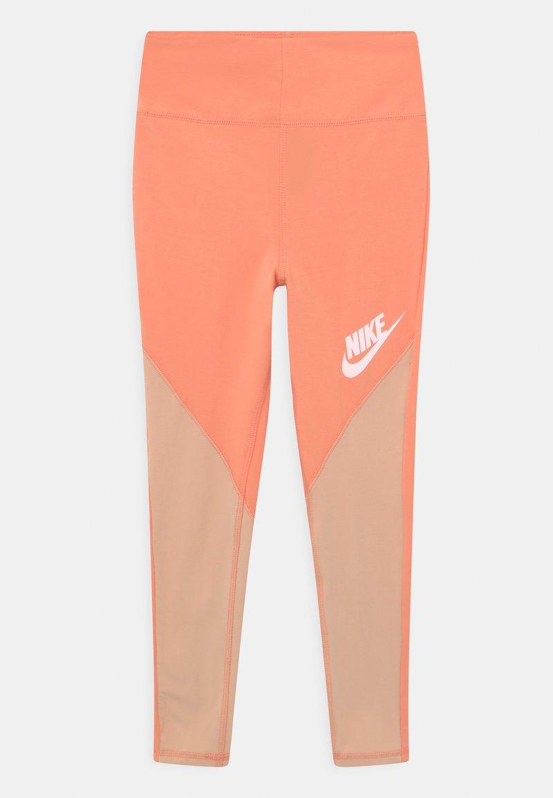 Nike Sportswear - Leggings - apricot agate/shimmer/white
