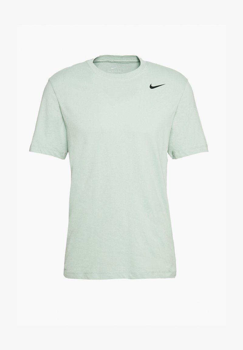 Nike Performance - DRY TEE CREW SOLID - Basic T-shirt - pistachio frost/black
