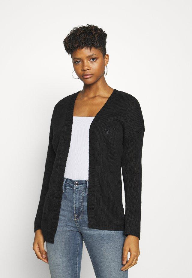 ONLLEXI CARDIGAN - Vest - black