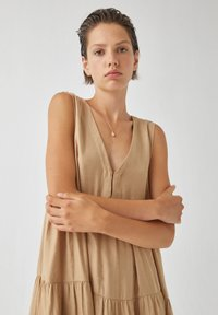 PULL&BEAR - Day dress - beige - 4