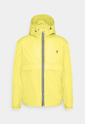 BELPORT HOODED - Summer jacket - signal yellow
