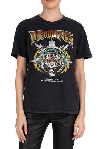 ROCK-STYLE  - T-shirt imprimé - black