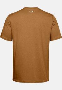 Under Armour - Print T-shirt - yellow ochre - 3