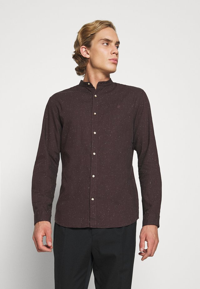JPRBLALOGO AUTUMN BAND - Shirt - vineyard wine