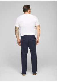 s.Oliver - Trousers - dark blue check - 2