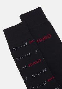 HUGO - 2 PACK - Socks - black - 1