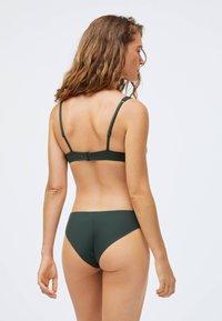 OYSHO - STRAP DETAIL - Bikini bottoms - evergreen - 1