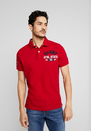 CLASSIC SUPERSTATE  - Polo shirt - chilli pepper