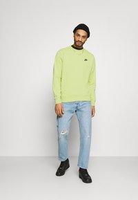 Nike Sportswear - CREW - Sweatshirt - limelight/smoke grey - 1