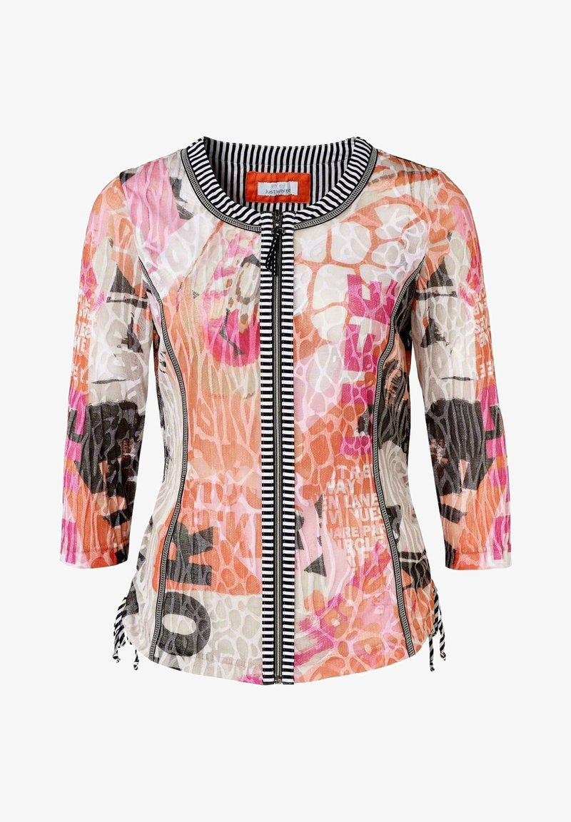 JUST WHITE - Summer jacket - hummer druck