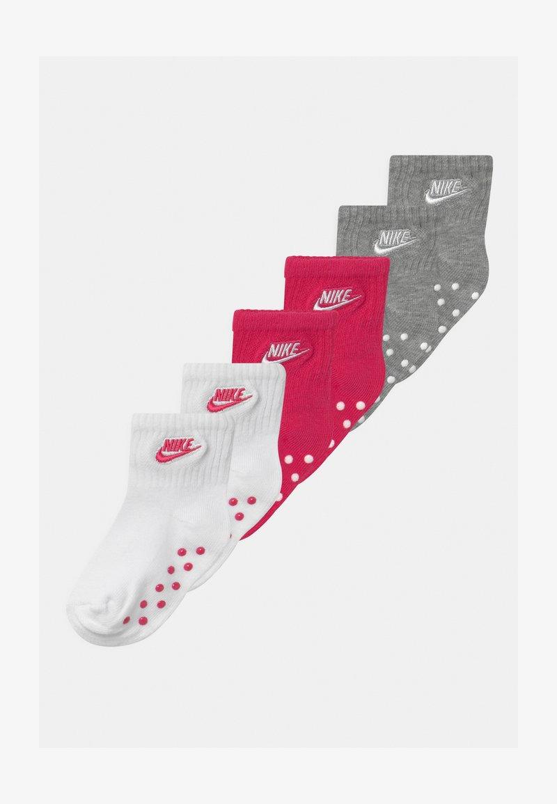 Nike Sportswear - CORE FUTURA GRIPPER 6 PACK UNISEX - Socks - rush pink