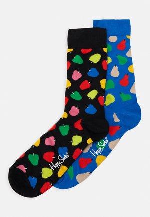 FRUIT SOCKS GIFT SET 2 PACK - Socks - medium blue