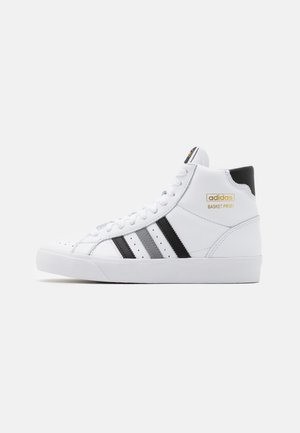 BASKET PROFI UNISEX - Sneakers high - footwear white/core black/grey three