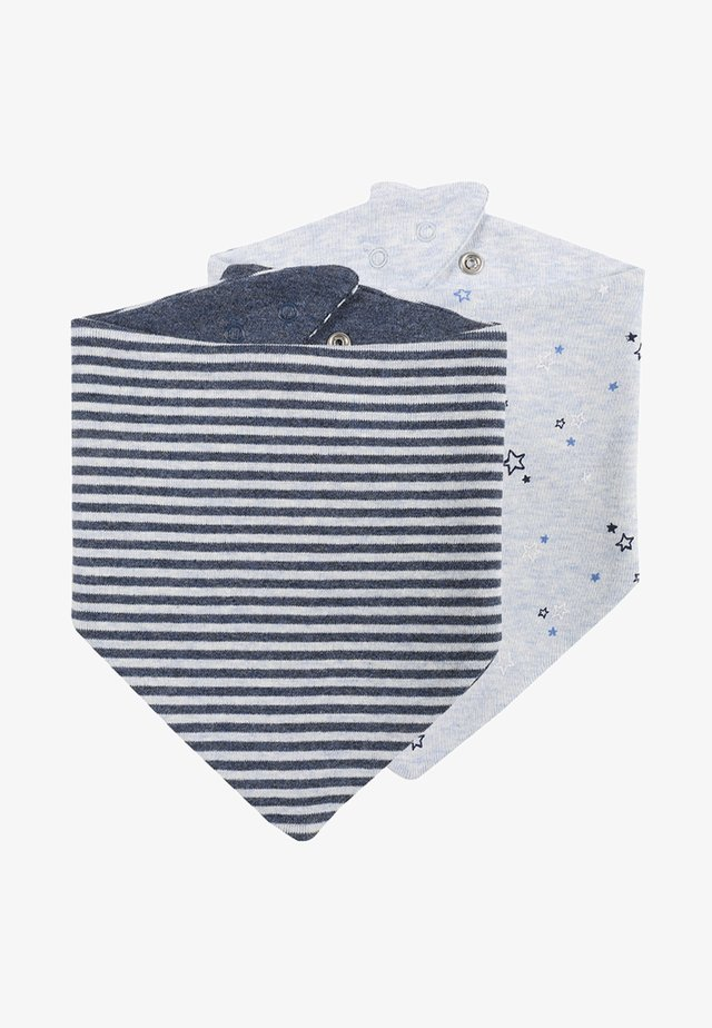 BANDANNA BIBS BABY 2 PACK - Foulard - blue heather