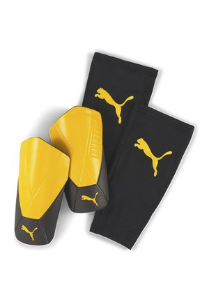 FTBLNXT ULTIMATE FLEX SHIN GUARDS  - Shin pads - yellow